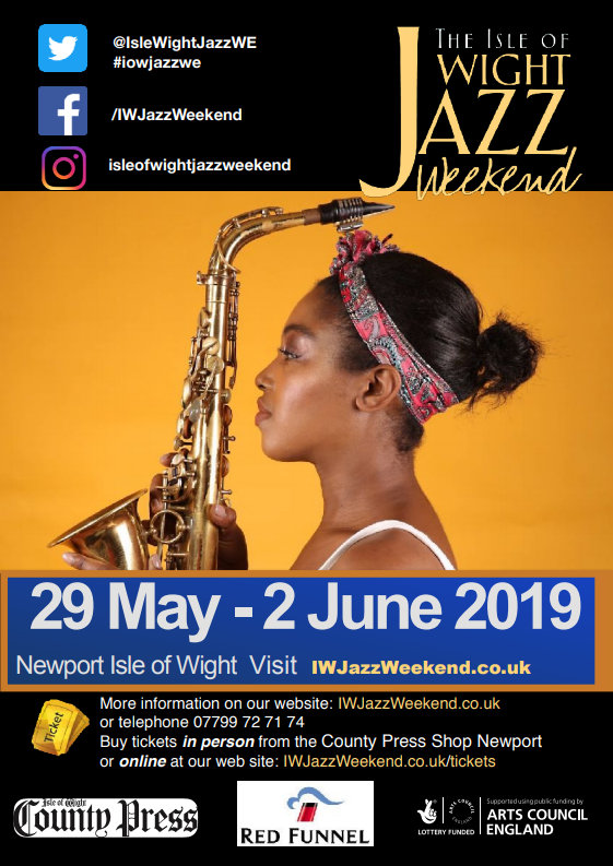 IOW Jazz Weekend Flyer